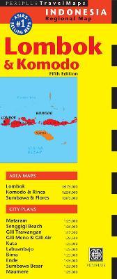 Lombok & Komodo Travel Map Fifth Edition (Sheet map, folded)