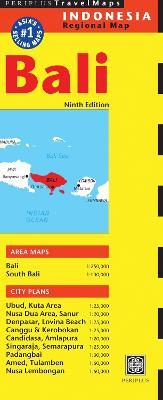 Bali Travel Map (Sheet map)