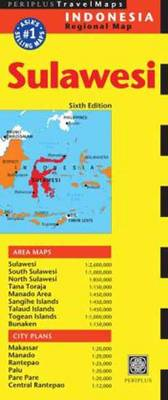 Sulawesi Travel Map Sixth Edition (Sheet map, folded)