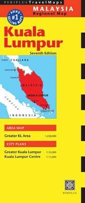 Kuala Lumpur Travel Map, 7th Edition (Sheet map, folded)