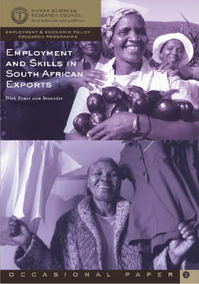 Employment and Skills in Southern African Exports (Paperback)