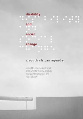 Disability and Social Change: A South African Agenda (Paperback)