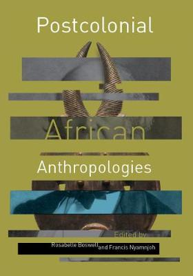 Cover Postcolonial African anthropologies