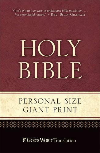 Gw Personal Size Giant Print Black Duravella (Paperback)
