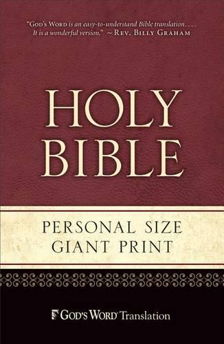 Gw Personal Size Giant Print Burgundy Duravella (Paperback)