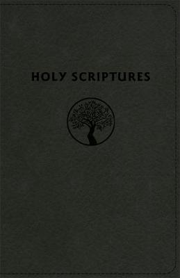 Tlv Personal Size Giant Print Reference Bible, Holy Scriptures, Black Duravella (Leather / fine binding)