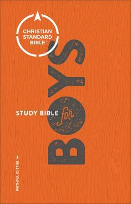 CSB Study Bible for Boys (Hardback)