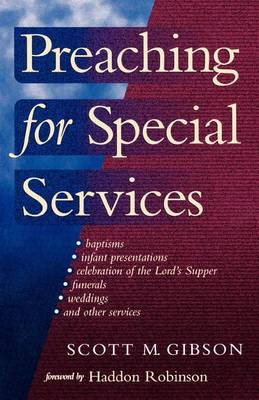 Preaching for Special Services (Paperback)