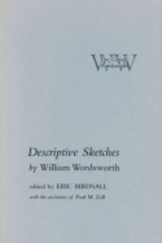 Descriptive Sketches - The Cornell Wordsworth (Hardback)