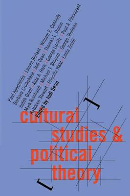 Cultural Studies and Political Theory (Paperback)