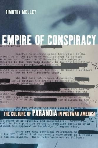 Empire of Conspiracy: The Culture of Paranoia in Postwar America (Paperback)