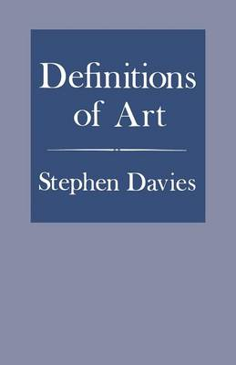 Definitions of Art (Paperback)