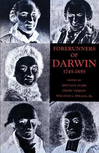 Forerunners of Darwin, 1745-1859 (Paperback)