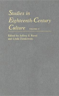 Studies in Eighteenth-Century Culture: Volume 35 (Hardback)