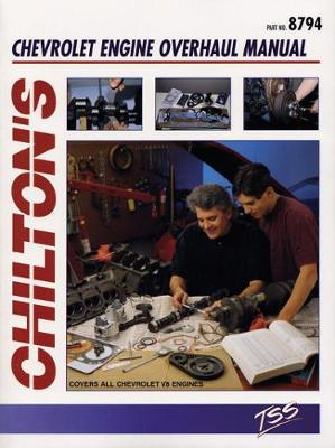 Chevrolet V8 Engine Overhaul Manual (Paperback)
