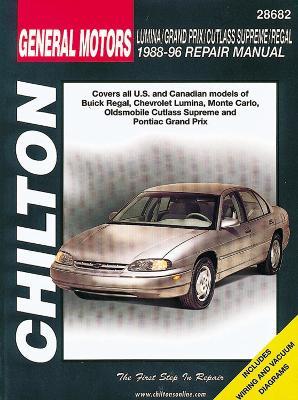 General Motors Lumina/Grand Prix/Cutlass Supreme/Regal (88 - 96) (Paperback)
