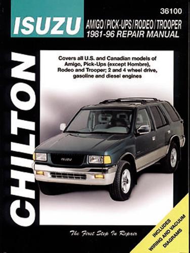 Isuzu Amigo/Pick-Ups/Rodeo/Trooper (81 - 96) (Chilton) (Paperback)