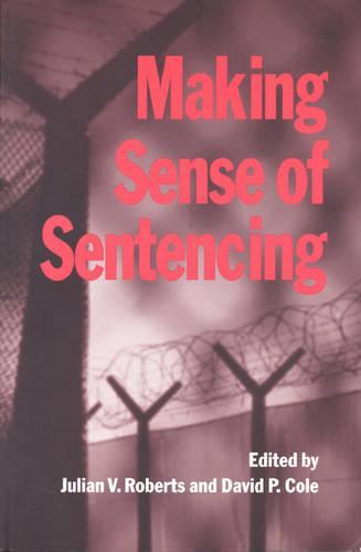 Making Sense of Sentencing (Hardback)