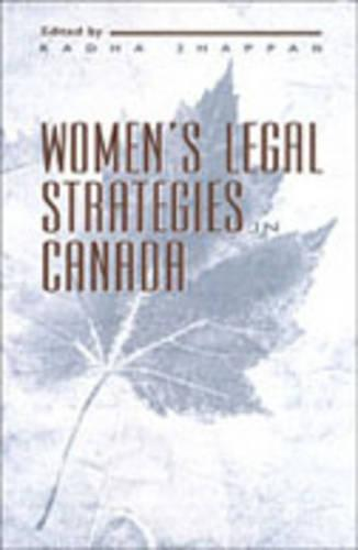 Women's Legal Strategies in Canada (Hardback)