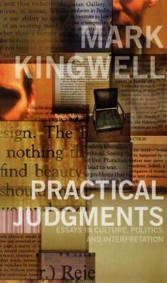 Practical Judgments: Essays in Culture, Politics, and Interpretation (Paperback)