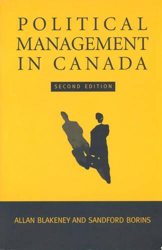 Political Management in Canada (Hardback)