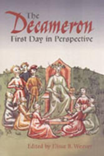 The Decameron First Day in Perspective - Toronto Italian Studies (Hardback)