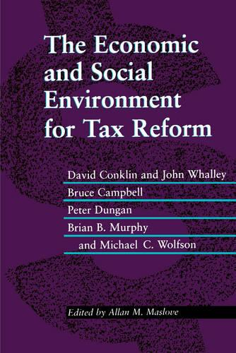 The Economic and Social Environment for Tax Reform (Paperback)