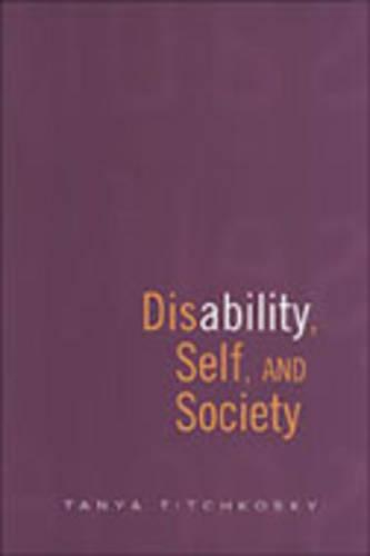 Disability, Self, and Society (Paperback)