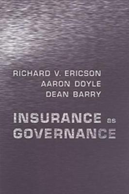Insurance as Governance (Paperback)