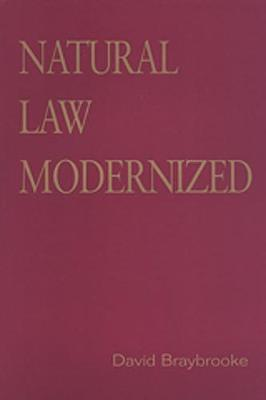 Natural Law Modernized - Toronto Studies in Philosophy (Paperback)