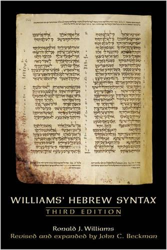 Williams Hebrew Syntax, Third Edition (Paperback)