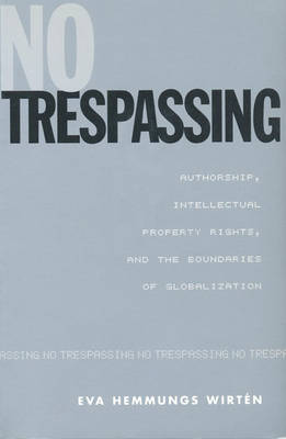 No Trespassing, Terms of Use: Set: Hemmungs Wirten Pkg (Paperback)