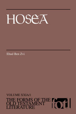 Hosea - Forms of Old Testament Literature (Paperback)