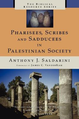 Pharisees, Scribes, and Sadducees in Palestinian Society: A Sociological Approach (Paperback)