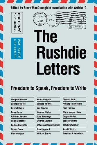 The Rushdie Letters: Freedom to Speak, Freedom to Write - Stages (Paperback)