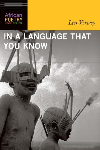In a Language That You Know - African Poetry Book (Paperback)