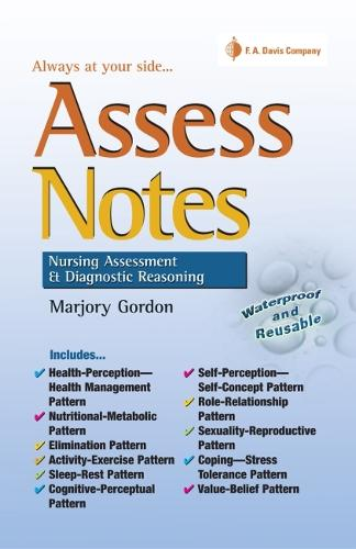 Asses Notes: Nursing Assessment and Diagnostic Reasoning for Clincal Practice (Paperback)