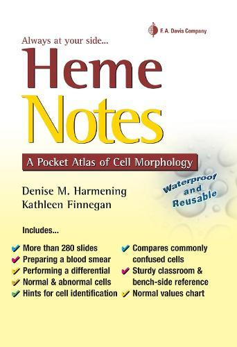 Heme Notes 1e a Pocket Atlas of Cell Morphology (Spiral bound)