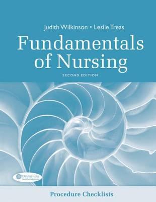 Procedure Checklists for Fundamentals of Nursing (Paperback)