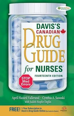 Davis's Drug Guide for Nurses Canadian Version (Paperback)