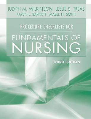 Procedure Checklists for Fundamentals of Nursing (Paperback)