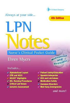 Cover Lpn Notes, 4e