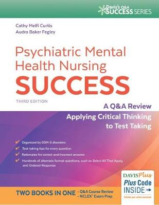 Psychiatric Mental Health Nursing Success, 3e (Paperback)
