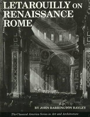 Letarouilly on Renaissance Rome (Paperback)