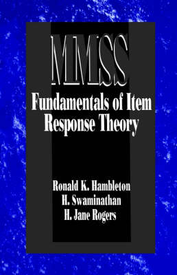 Fundamentals of Item Response Theory - Measurement Methods for the Social Science (Paperback)