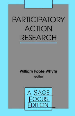 Participatory Action Research - SAGE Focus Editions (Paperback)