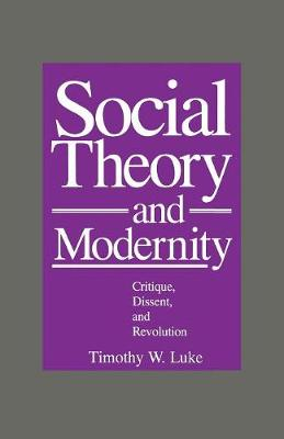 Social Theory and Modernity: Critique, Dissent, and Revolution (Paperback)
