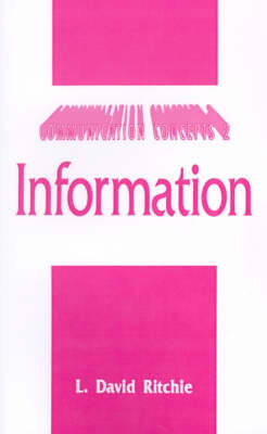 Information - Communication Concepts (Paperback)