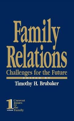 Family Relations: Challenges for the Future - Current Issues in the Family (Hardback)