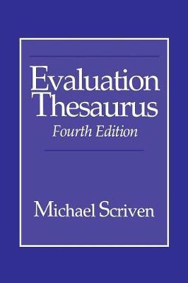 Evaluation Thesaurus (Paperback)